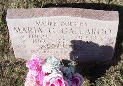 Maria <i>Guerrero</i> Gallardo