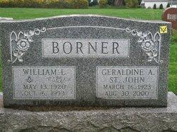 Geraldine A <i>St John</i> Borner