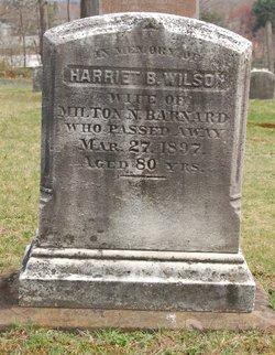 Harriet B <i>Wilson</i> Barnard