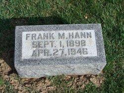 Frank M Hann