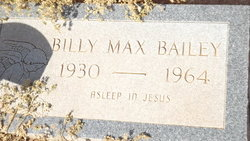 Billy Max Bailey