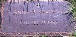 Anna Rinearson