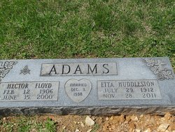 Etta Mae <i>Huddleston</i> Adams
