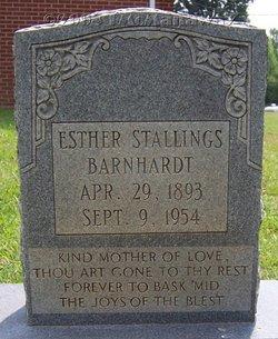 Esther <i>Stallings</i> Barnhardt