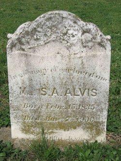 Sallie A. Alvis