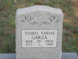 Ysabel <i>Farias</i> Garza