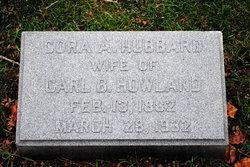 Cora A <i>Hubbard</i> Howland