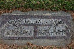 Margaret Maggie <i>Davis</i> Baldwin