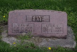 Leslie L Frye