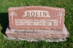 Gregory Francis Bolin