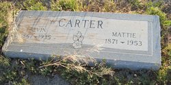Mattie <i>Groves</i> Carter