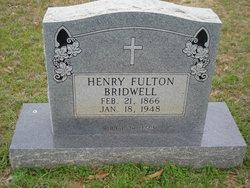 Henry Fulton Bridwell