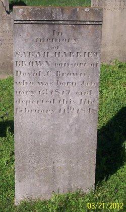 Sarah Harriett <i>Stephenson</i> Brown