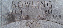 Benjamin Franklin Bowling, Jr