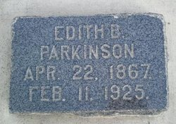 Edith <i>Benson</i> Parkinson