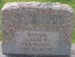 Lillie M. Foreman