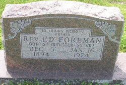 Rev Ed Foreman