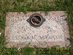 Esther M. Abraham