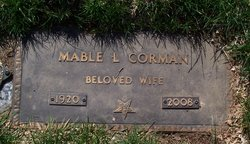 Mable Lenora <i>Mace</i> Corman