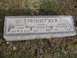 Allie Laura <i>Neville</i> Strohecker