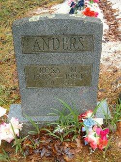 Rosa Irene <i>Mathis</i> Anders