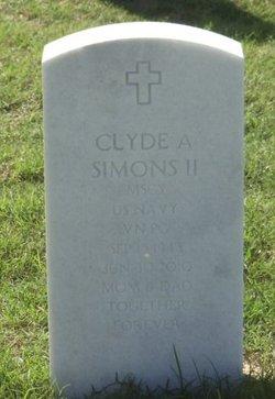Clyde Alan Simons, II
