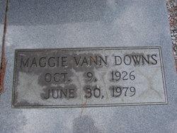 Maggie <i>Vann</i> Downs