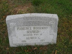 Florence Rohrman <i>Smith</i> Belfield