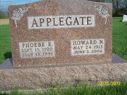 Phoebe <i>Heaton</i> Applegate