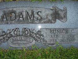 Eunice C Adams