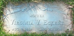 virginia victoria jennie <i>camper</i> eckert