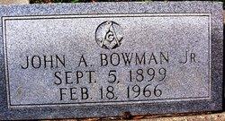 John A Bowman, Jr