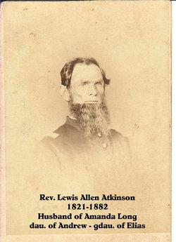 Rev Lewis A Atkinson