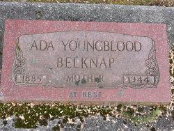 Ada E <i>Conner</i> Youngblood Belknap
