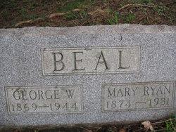 Mary Emma <i>Ryan</i> Beal