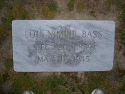 Lou Nempie <i>Renfrow</i> Bass