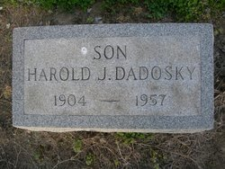Harold HJ Dadosky