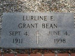 Lurline E <i>Grant</i> Bean