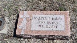 Walter E Walt or Ed Baker