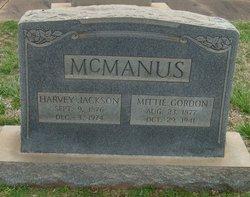 Mittie Patricia <i>Gordon</i> McManus