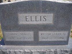 Mary <i>Neal</i> Ellis