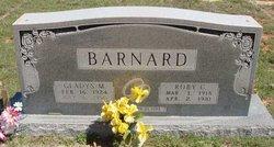 Gladys M <i>Daniel</i> Barnard