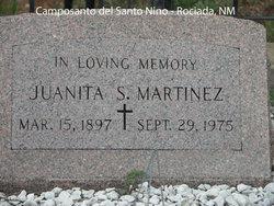 Juanita <i>Sanchez</i> Martinez