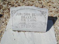 Jerusha <i>Beard</i> Braxton