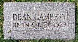 Dean Lambert