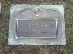 Golda Opal Goldie <i>Lutes</i> Allen