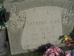 Sabrina Gail Carr