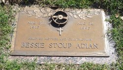 Bessie <i>Stoup</i> Adian