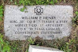 William Paschal Henry, Sr