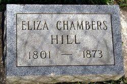 Eliza <i>Chambers</i> Hill